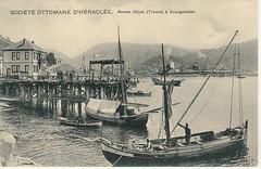 Zonguldak port, former coal chute
