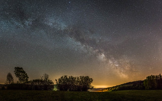 Milky Way Pano Brombach 2