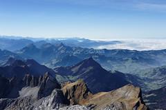 View from the Säntis (Claude-Olivier Marti) Tags: switzerland swissmountains swiss swissalps montagne mountains alpes alpessuisses alpin