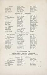 1925-09-21-Organization Day program-10 (Old Guard History) Tags: 1925 3dusinfantryregimenttheoldguard fortsnelling minnesota organizationday