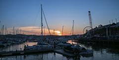 Torquay Harbour Sunset (joanjbberry) Tags: torquay seaside resort town southwestengland devon harbour englishriviera sunset