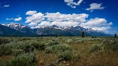 (Clint Everett) Tags: landscape sky mountains clouds national park parks peaks grand teton tetons summer sony sourceclinteverett mountain