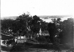 In the grounds: Taronga Zoological Park (State Library of New South Wales collection) Tags: statelibraryofnewsouthwales sydney harbour views zoos taronga architecture buildings