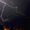 Orage du soir. Auxerre, 17/05/2017 (jjcordier) Tags: éclair orage auxerre météorologie ciel nuit