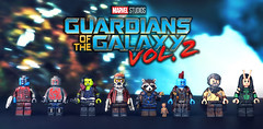LEGO Guardians of the Galaxy Vol. 2 Minifigures (MGF Customs/Reviews) Tags: lego guardians galaxy vol 2 starlord gamora drax rocket raccoon yondu udonta baby groot mantis nebula ego the living planet custom figure minifigure chris pratt zoe saldana dave bautista bradley cooper vin diesel michael rooker karen gillan pom klementieff kurt russel brickarms brickforge