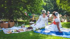 Dag van de Romantiek. (Stevox-1) Tags: xf23mmf14 xt1 romance romantiek people rotterdam oldfashion romantica women outdoor ascotinhetpark hats