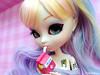 Luiza ♥ (♥ MarildaHungria ♥) Tags: luiza pullip lunarosa tokidoki simonelegno doll groove obitsued rewigged rechipped wig colorful colored shopkins season4 eyechip realistic blue