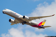 Asiana Airlines Airbus A350-900 cn 117 F-WGX // HL8079 (Clément Alloing - CAphotography) Tags: asiana airlines airbus a350900 cn 117 fwgx hl8079