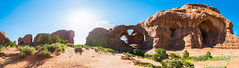 Parade of Elephants and Double Arch Panorama (Paladin27) Tags: paradeofelephants doublearch double arch archesnationalpark arches national park utah