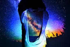 we are all stardust (sophiakoni) Tags: sky galaxy stars milkyway stardust projector colours