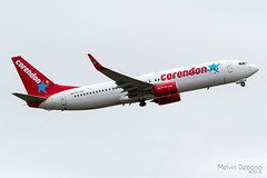 Corendon Dutch Airlines Boeing 737-86J  |  PH-CDH  |  Amsterdam Schiphol - EHAM (Melvin Debono) Tags: corendon dutch airlines boeing 73786j | phcdh amsterdam schiphol eham melvin debono spotting canon 7d 600d airport airplane aviation aircraft airways plane planes polderbaan
