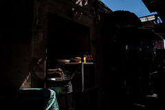 In the kitchen it takes hand...even in the suk (superUbO) Tags: marrakech marocco hand kitchen cook shadow light leica uboldiemanuele suk medina wwwphotoworksit