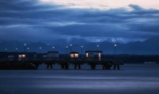 Fishing Pier at Dusk