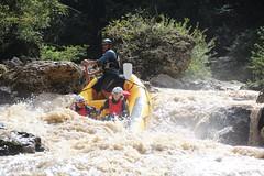Rafting nelle Gole del Lao