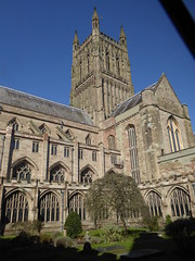 Worcester Cathedral (Aidan McRae Thomson) Tags: worcester cathedral worcestershire medieval architecture gothic