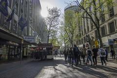 20170503_New Street (Damien Walmsley) Tags: students sun exchange street morning light