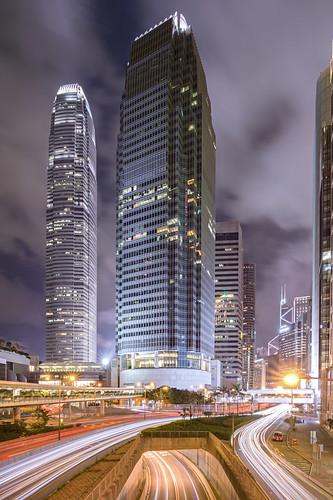 Night at Central, Hong Kong