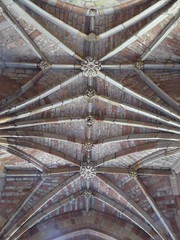 Porch Vault, Worcester Cathedral (Aidan McRae Thomson) Tags: worcester cathedral worcestershire medieval architecture gothic vault ceiling vaulting