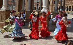 SEVILLA EN FERIA (ANDALUCÍA/ESPAÑA) SPAIN (DAGM4) Tags: sevilla feria2017 seville andalucía andalusie andalusia españa europa espagne europe espanha espagna espana espainia espanya spanien spain 2017 no8do feriadeabril feriadesevilla feria sur mujer belleza baile