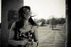 (cracurs) Tags: dress 35mm 35mm24 canon gardens lightroom lightroom3 m42 manualfocus manuallens postprocess preset primelens carlzeissjena flektogon stowelandscapegarden nationaltrust portrait canon5dmk1 hair blackandwhite bw monochrome