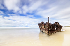 High key Maheno || Fraser Island (David Marriott - Sydney) Tags: fraserisland queensland australia au qld maheno shipwreck ship wreck fraser island high key long exposure thisisqueensland seeaustralia