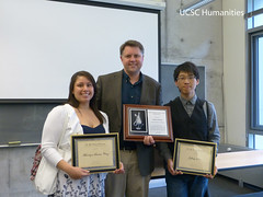 Christy, students, plaques