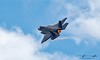 The Lockheed Martin F-35 Lightning II. Planes of Fame, Chino, CA. (jeffkniffin) Tags: f86 mig15 t6 p51 f4u ad yak3 f7f tigercat corsair fm2 val zero t33 b25 lodestar pb4y2 f35 p38 planesoffame chino