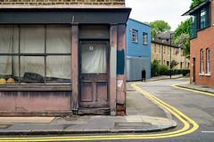 Cornered (cybertect) Tags: ec1 london londonec1 olympuszuikoom3570mmf4 rawstorneplace rawstornestreet sonya7 building corner yellowline