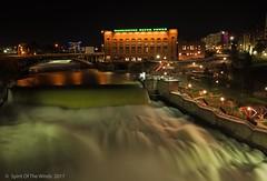 "Spokane Falls (jimgspokane) Tags: spokanewashingtonstate spokaneriver spokanefalls waterfalls rivers ""nikonflickraward"" otw"