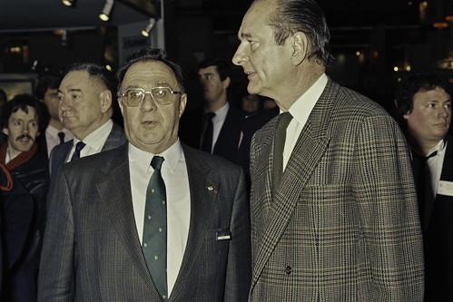 Mr JACQUES CHIRAC au SIA 1990-24-cliche Jean Weber