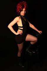 Mercury Room MC (AdvantagePhotography) Tags: advantagephotography alienbees strobes fashion glamour portraits portraiture redhair makeup mc
