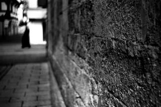 Black shape (Leica M6)