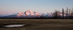 Palmer Pink (fotostevia) Tags: alaska chugachmountains chugachrange palmer pioneerpeak alpenglow mountains pentaxart