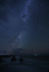Milky Way partially hidden by a cloud (padraic_koen) Tags: 12apostles greatoceanroad victoria australia