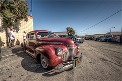 1941 chevy special deluxe (pixel fixel) Tags: 1941 4734brooksst 5thanniversary chevrolet memoortega montclair red specialdeluxe