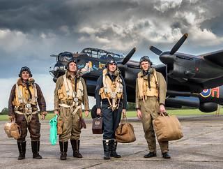Lancaster Bomber Crew