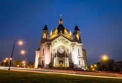 The Cathedral of Saint Paul (RiverBum - MN) Tags: stpaulcathedral stpaul tokina minnesota church cathedral nikon d3300 nikond3300 night