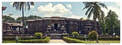 Enter... (vatsaraj) Tags: halebidu halebeedu temple architecture stonetemple stonearchitecture hoysala hoyasala nikon d300 vatsaraj cvatsaraj stonework ancient