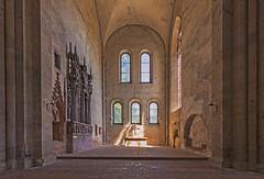 Klosterkirche - Altarraum (Reiner Grasses) Tags: kloster eberbach hessen klosterkirche altarraum rheingau name der rose film sean connery