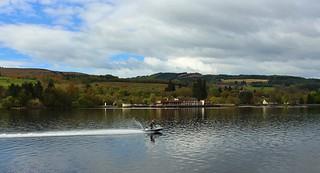 Jet Ski on Loch Lomond