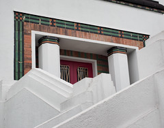 Art Deco details. (longfellow784@btinternet.com) Tags: artdeco goldenmile brentford greatwestroad