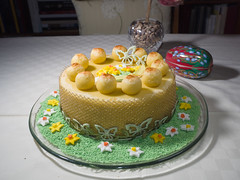 Simnel cake (James E. Petts) Tags: baking cake decorated decoration easter marzipan simnelcake