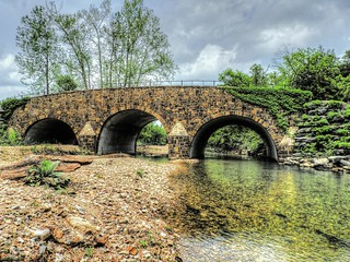 Clear Creek Monastery Bridge