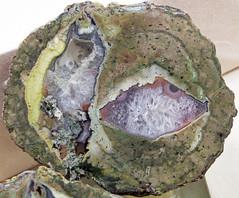 Quartz-agate nodule (Killer Green Claim, Ochoco Mountains, Prineville, Oregon, USA) (James St. John) Tags: quartz agate nodule killer green claim ochoco mountains prineville oregon