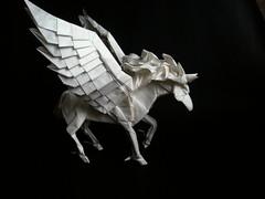 Pegasus B3,0 by Kamiya Satoshi, folded by Artur Biernacki (Arturori) Tags: pegasus arturbiernacki art origami kamiyasatoshi