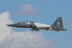 T-38C Talon - 340th Flying Training Group - 67-14917 (Pasley Aviation Photography) Tags: northrop t38 t38c talon 340 340th flying training group ftg 6714917 afb air force base glendale arizona reserve component arc united states tenth command randolph field joint san antonio texas landscape aerial sky blue clouds ra travel pod j85 afterburner after burner art painting photography photographer professional pro amateur sleek slick area rule interesting single pilot trainer aircraft airplane plane fighter nikon canon camera zoom pasley aviation fuel stop williams phoenix mesa gateway airport