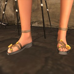 PC Flowery Sandals Fatpack (MISS V♛ BELGIUM 2015♛MISS V♛ BELGIUM 2016♛) Tags: orelanaresident blog blogs blogger bloggers glamour glamourous girl girly pretty pose beauty bodymesh secondelife style france belgique mesh maitreya news new virtual virtualfashion casual woman avatar jewels jewelry petitchat