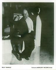 Billy Daniels (William Boone Daniels) 1915-1988. (gubama) Tags: billydaniels 19151988 1915 1988 cantante norteamericano fotografía fotografíapromocional mercuryrecord estadosunidos