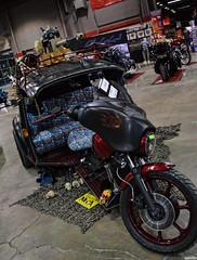 Zombie Trike (Chad Horwedel) Tags: harleydavidson vw volkswagen trike bike custom zombie wow17 worldofwheels donaldestephensconventioncenter rosemont illinois