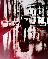 Romantic view (_Alena99_) Tags: love spring people umbrella rain trees park road puddle yaroslavl любовь весна люди влюбленнаяпара зонтик дождь деревья парк дорога тропинка лужи россия russianfederation